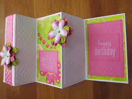 Folded Birthday Card Folded Birthday Card Magdalene Project Org