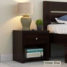 wooden bedside tables in india
