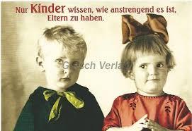 Lustige Sprüche Postkarte Anstrengende Eltern Grusskartenshopde