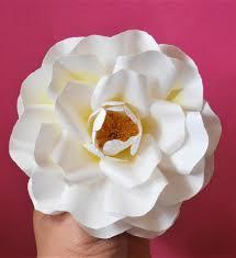 Paper Flower Bouquet Tutorial Apricola Rose Paper Flower Templates Tutorial See Item Description Instant Download Svg Jpg Diy Paper Flower Bouquet