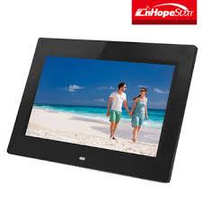 special advertising black 10 inch digital photo frame
