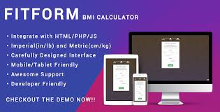 html calculator form fitform bmi calculator for html js php responsive by gameofwp
