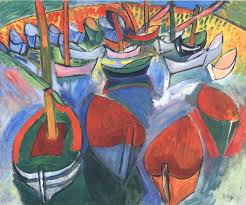 he painted barques à