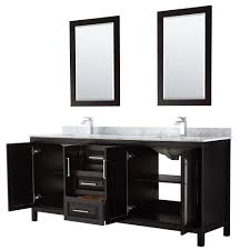 Dark bathroom vanity Double Sink Tap To Expand Modern Bathroom Daria 80