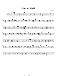 color my world sheet music color my world sheet music color my world score hamienet com