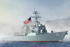 Image result for khu trục hạm USS