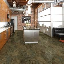 Slate Kitchen Flooring Trafficmaster Take Home Sample Allure Harrison Slate Resilient