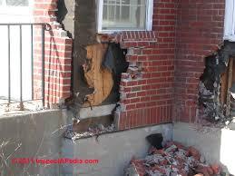 loose or ed brick building walls diagnosis repair guide