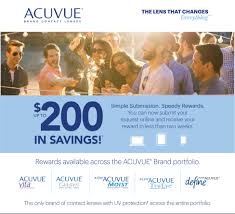 acuvue contact lens offer
