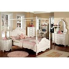 Amazon.com: Inland Empire Furniture Victoria Pearl White Solid Wood ...