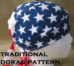 Do Rag Pattern Adorable TRADITIONAL DORAG DOORAG DEWRAG DO RAG DOO RAG DEW RAG PATTERN 48