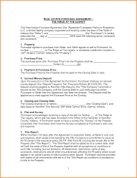 8 Simple Purchase Agreement Template Memo Templates