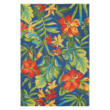inspiring hawaiian rugs couristan covington tropical orchid indoor outdoor area rug