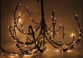 Branch Chandelier Mossy Woodland Tree Branch Twig Wedding Chandelier Plug In