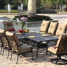 6 piece patio dining set dining patio set 6 piece folding table chairs umbrella beige brown 6 piece patio dining set