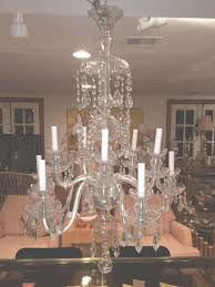 chandelier antler chandelier waterford crystal lamps wagon wheel throughout waterford crystal chandelier view
