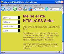 HTML + CSS - ein Einstieg