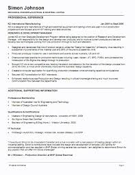 example resume mechanical engineer