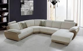wonderful modern contemporary duke sectional sofa bed white beige leather sectional sofa beige striped fabric cushion
