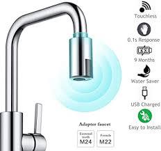 ALLOMN <b>Smart</b> Faucet, Touchless Faucet Adapter <b>Water Saving</b> ...