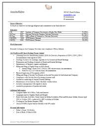 Resume Sample Doc Adorable Company Secretary Resume Sample Doc Resume Examples Pinterest