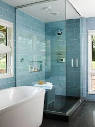 Impressive Shower Remodel Glass Tiles Great Bathroom Tile Ideas And Trends With Simple Design