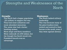 Civil War Strengths And Weaknesses Chart Weakness The Confederacy Related Keywords Suggestions