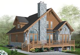 brilliant lake house plans with rear view house plans for lake view rustic mountain house plan rear view lake