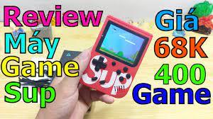 Trên Tay Máy chơi game cầm tay G1 Plus 400 in 1 một vé về Tuổi Thơ -  TaChaBa.Com