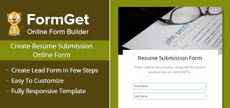 Resume Submission Form For Recruiting Firms Formget