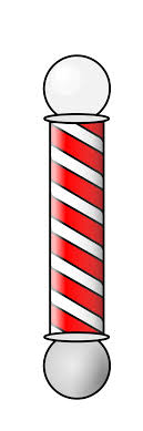 Barber Shop Candy Cane Light Rotate Resize Tool Barber Shop Stripes Png