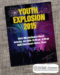 church invitation flyers christian flyer youth explosion church conference youth