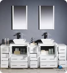 double sink bathroom vanity cabinets white. 84\ double sink bathroom vanity cabinets white i