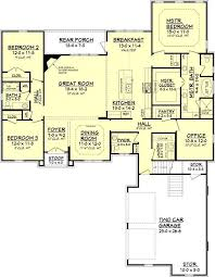 3 bedroom open floor house plans. Modren House Searching For A Large Open Floor House Plan With An Acadian Design The  Trailwood Plan From House Zone Is Exactly What You Need For 3 Bedroom Open Floor Plans