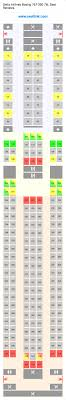 delta airlines boeing 767 300 76l 76w seat map