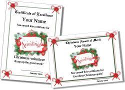 Printable Christmas Certificates Printable Christmas Certificates 51