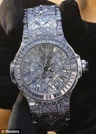 a 5m price tag and 1 292 diamonds is this the world s most the world s most expensive timepiece hublot s new watch which has a price tag of