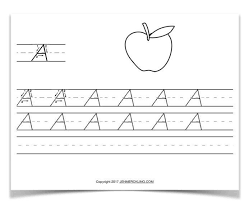 alphabet practice paper free handwriting worksheets for kids jen merckling