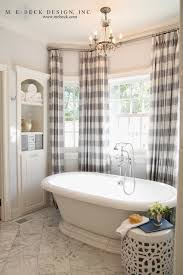 Framing a Free standing Tub with Curtain Panels