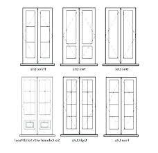 Exterior Door Size Chart Magnaspec Co