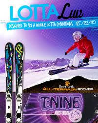 K2 Ski Size Chart 2011 K2 Lotta Luv W Ers 11 0 Womens Competitive Edge Ski Bike
