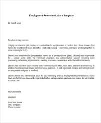 Professional References Letter Professional References Letter Template Job Reference