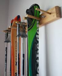 wakeboard storage rack snow ski storage rack wall mount 2 skis by on wakeboard storage rack