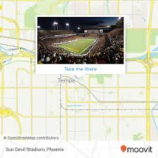 How To Get To Sun Devil Stadium In Tempe By Bus Or Light