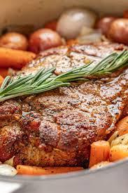 sunday pork roast