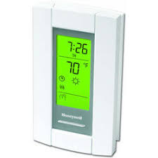 t410b1004 honeywell t410b1004 t410 white, electric heat 240 Single Phase Wiring Diagram linevoltpro digital programmable electric heat thermostat, dpst product image