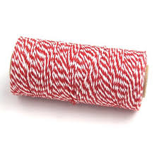 Pink JEMPAK UK® <b>10M x</b> 2mm thick <b>100</b>% cotton bakers twine ...