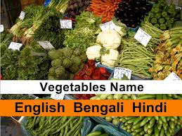 indian vegetables names in english with pictures. Exellent Indian Common Vegetables Name In EnglishBengali Hindi In Indian Vegetables Names English With Pictures G