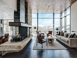 livingroom Rustic Modern Living Room Design Contemporary Furniture