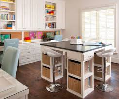 craft room furniture ideas. Small Island With Four Tools To Complete Fun And Intimate Craft Room Ideas Furniture I